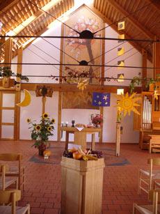 Versöhnungskirche von innen