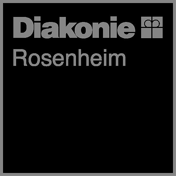 das Logo der Diakonie Rosenheim