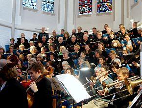 Kirchenchor singt in der Erlöserkirche