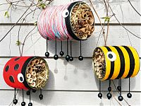 Insektenhotel aus Dosen