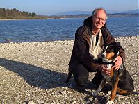 Michael Markus mit Hund Tessi