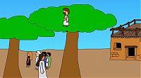 Zachäus auf dem Baum