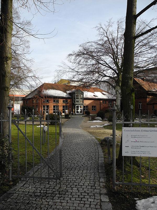 Gemeindehaus Eingang