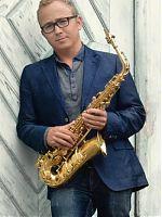 Thomas Roth mit Saxophon