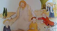Jesus segnet Kinder