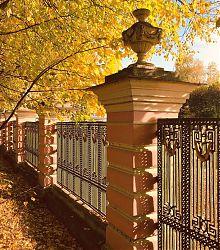 Herbstbild mit bunten Blättern