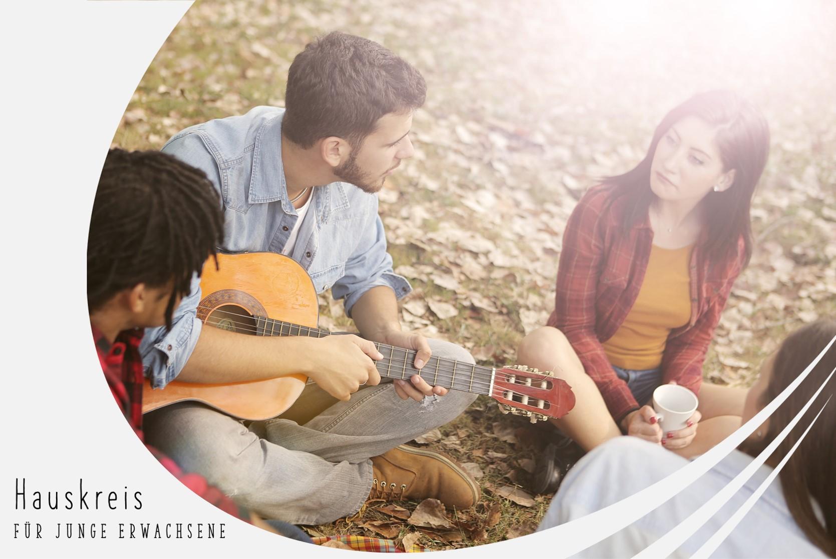 Junge Menschen im Gespräch