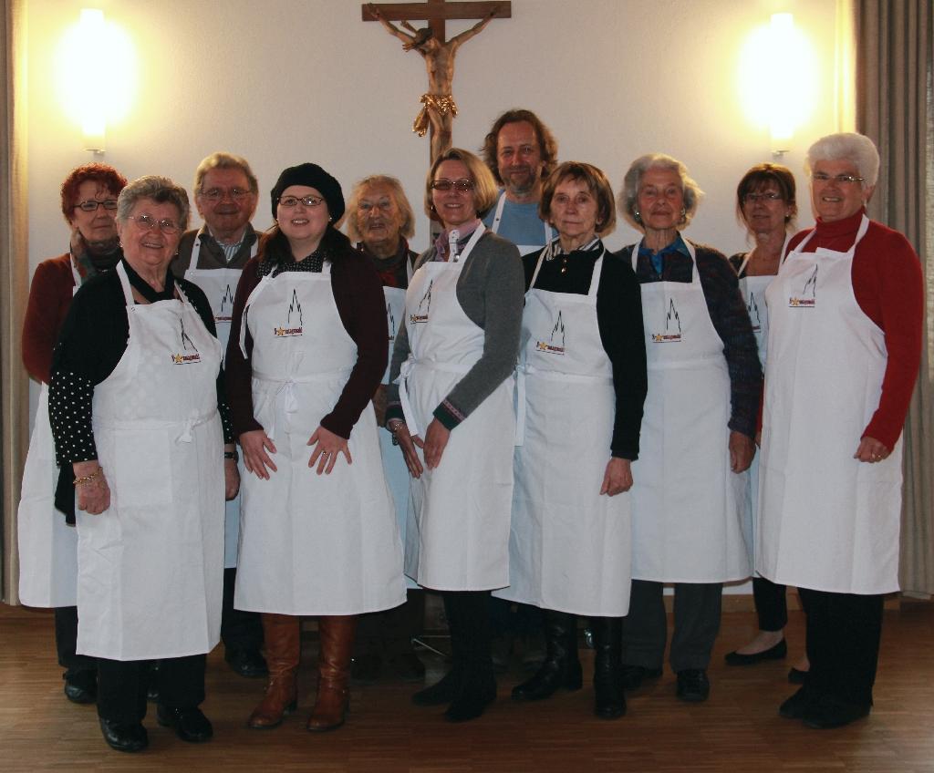 Das Team des Sonntagsmahls