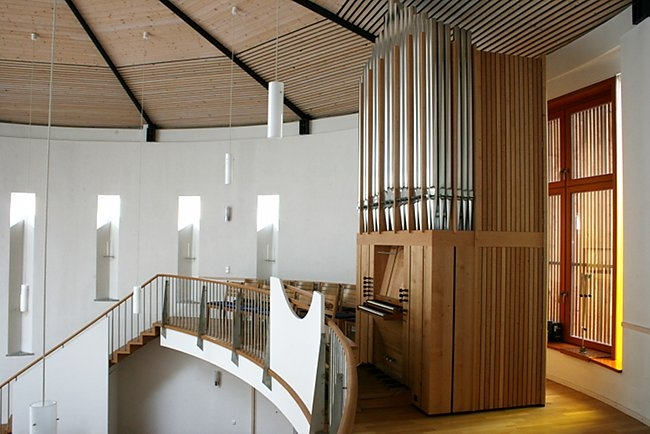 Orgel in der Apostelkirche
