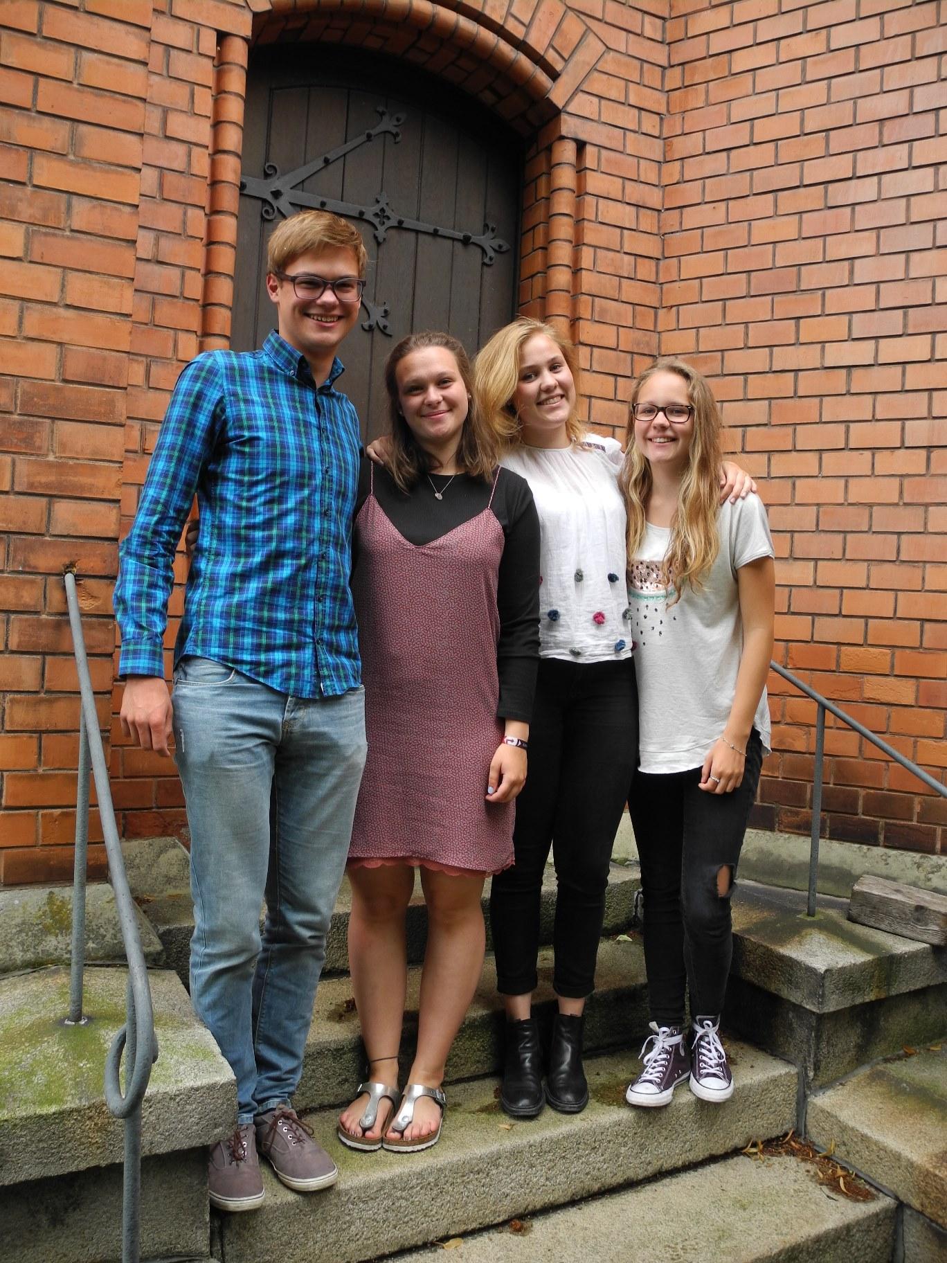 Die neuen Jugenddelegierten der Evangelischen Gemeindejugend