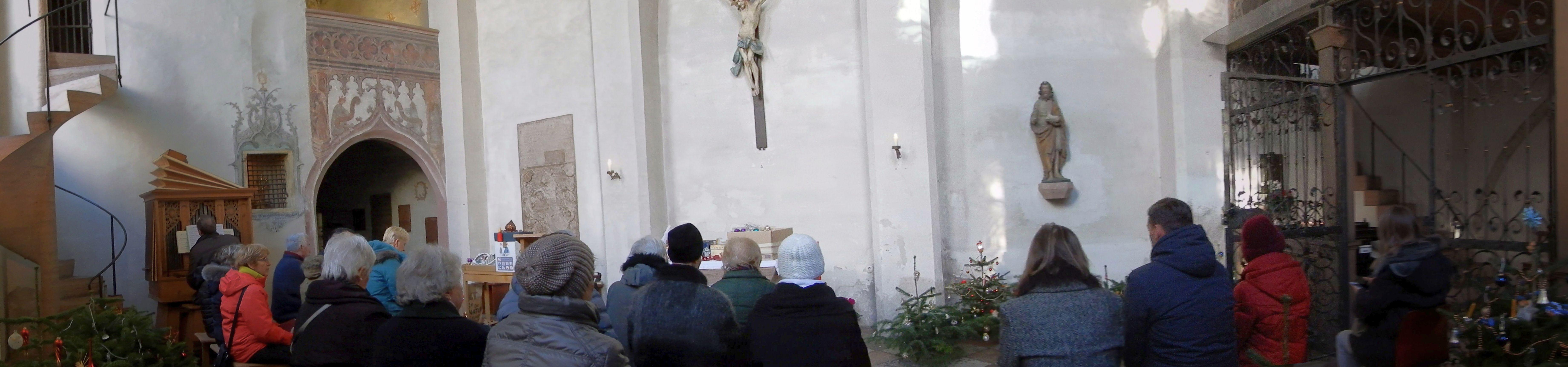 Gottesdienst in der Heilig-Geist-Kirche