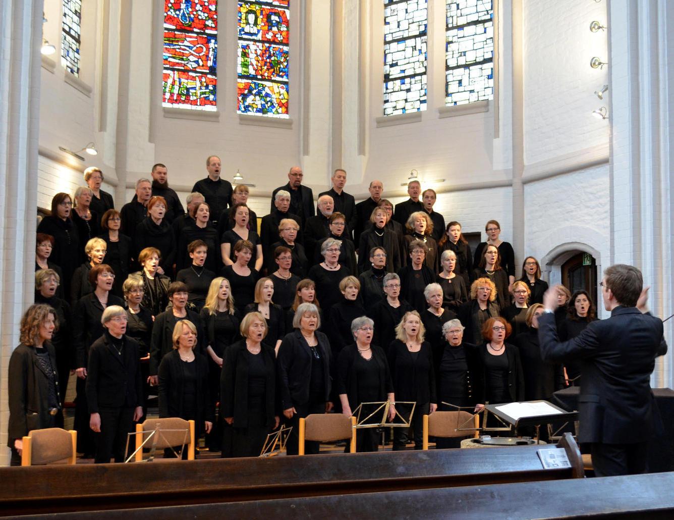 der Chor an der Erlöserkirche