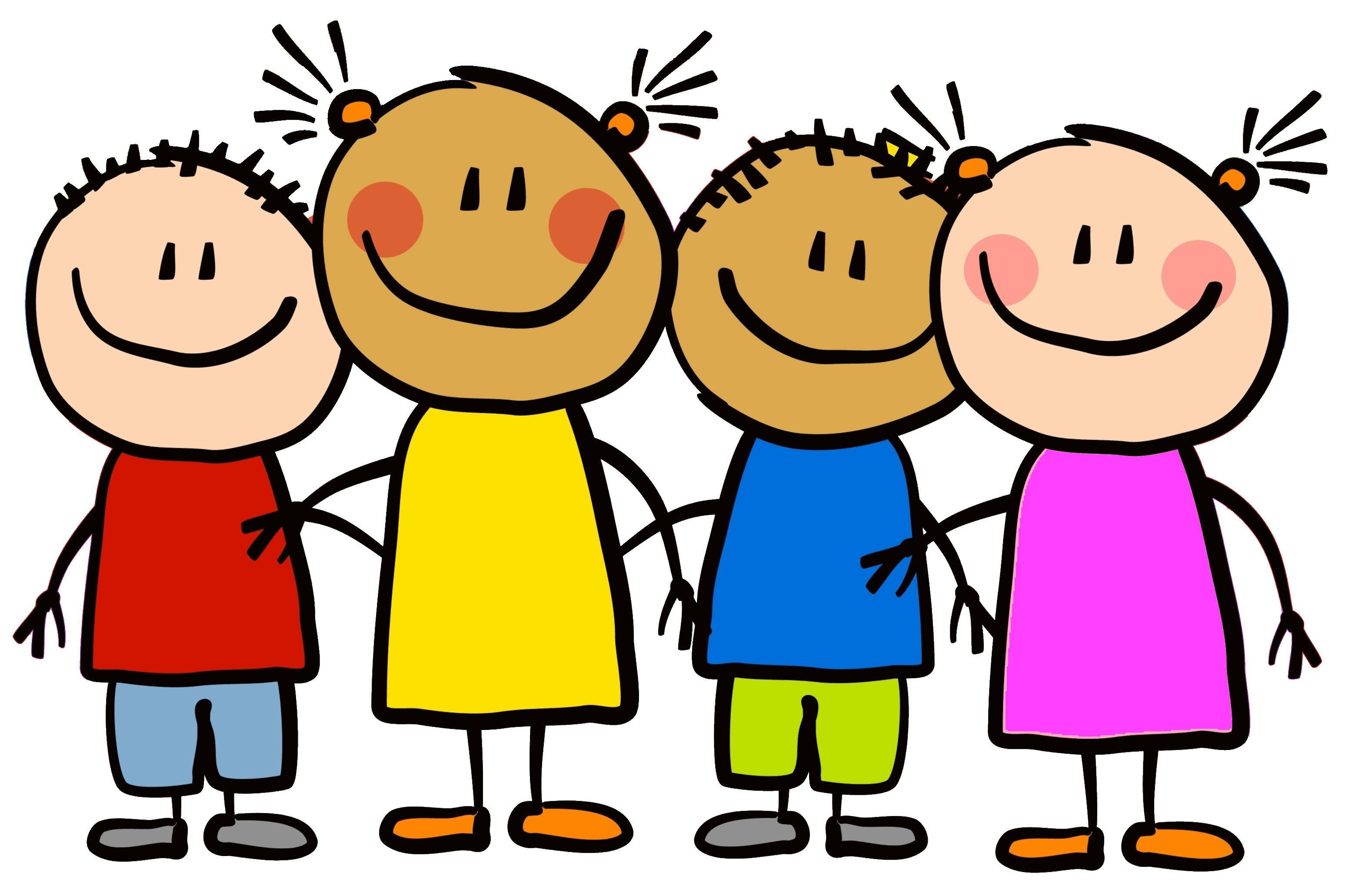 Logo lachende Kinder