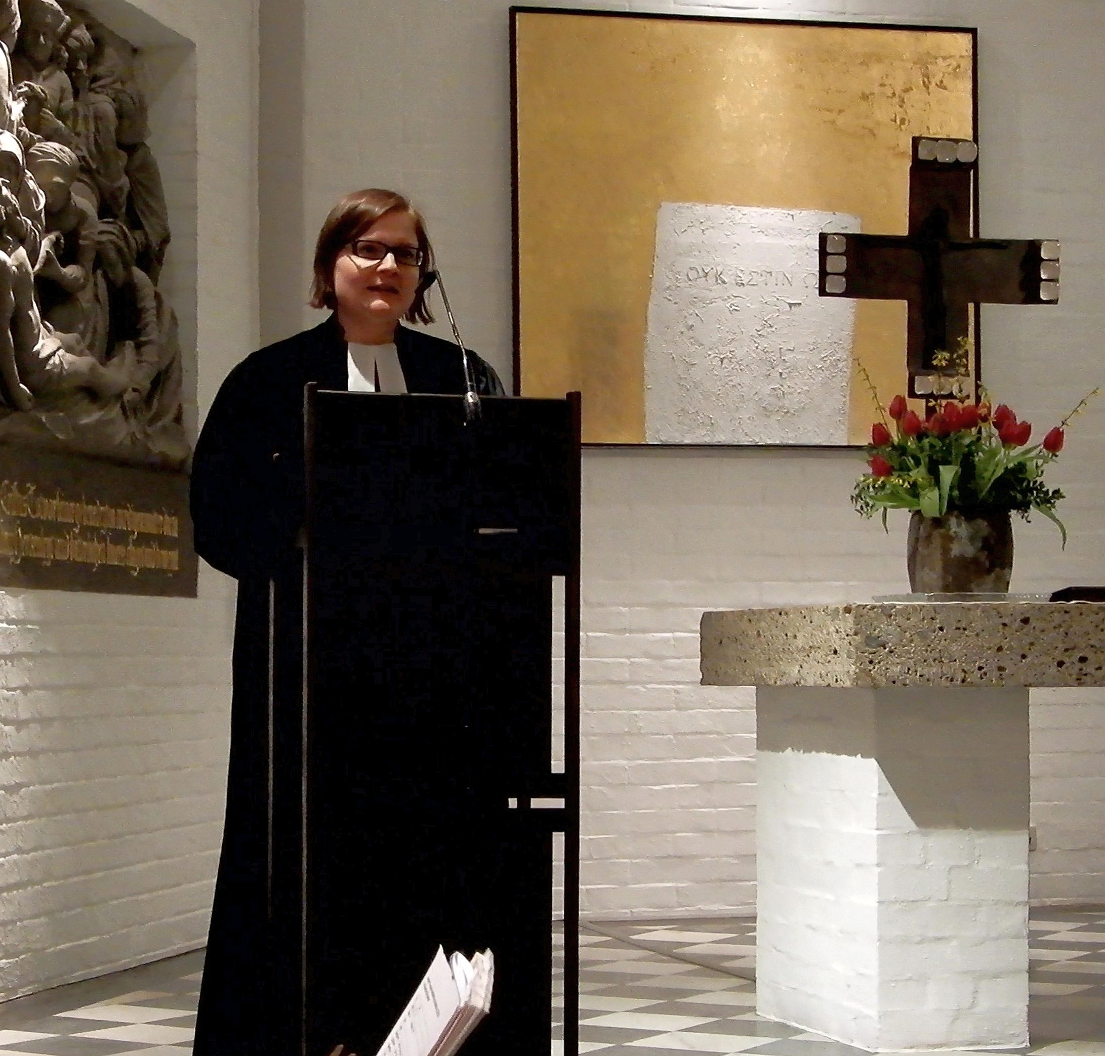 Anna Ammon in der Erlöserkirche
