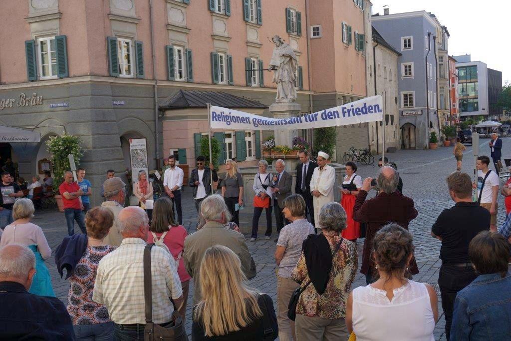 Friedensgebet in Rosenheim