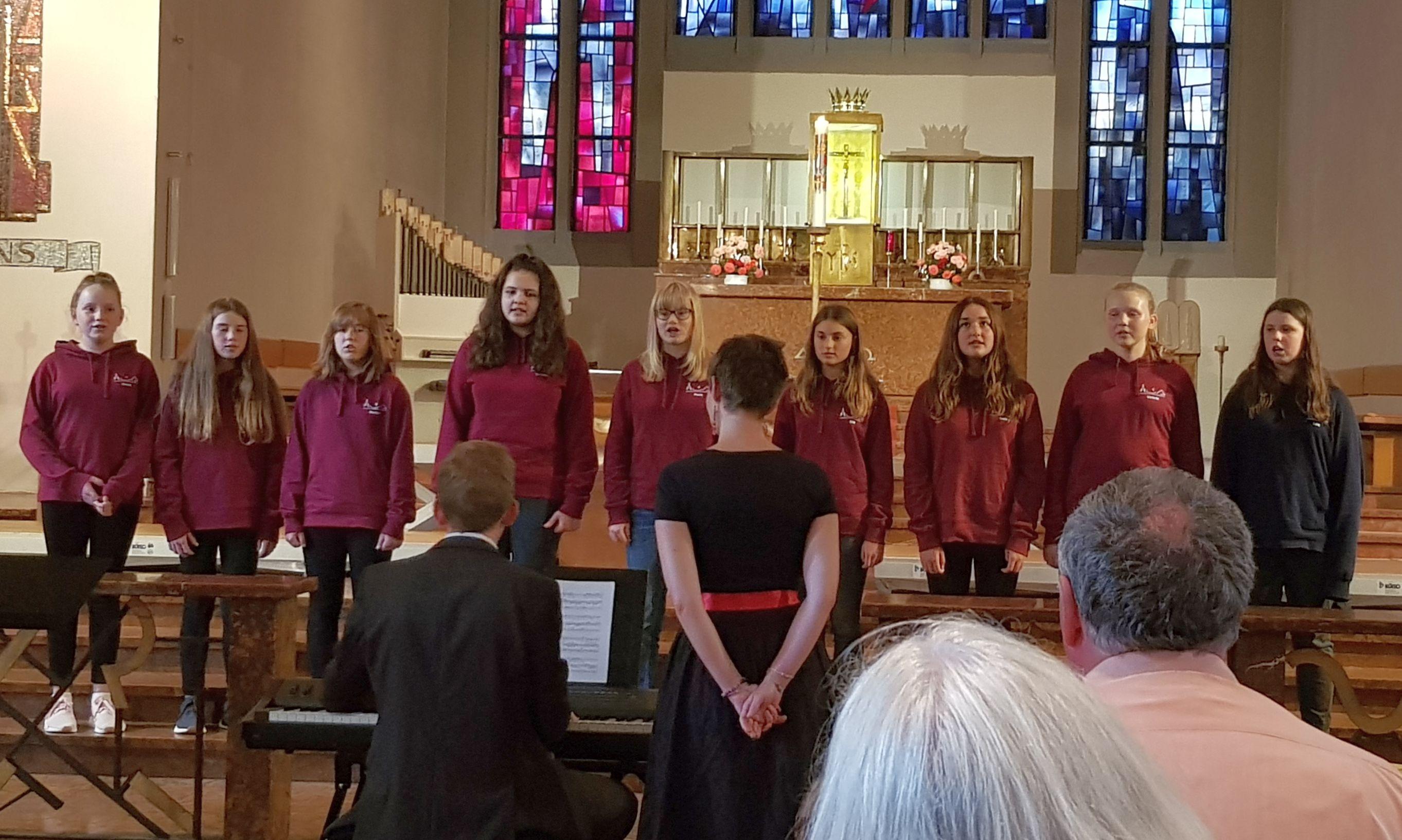 der Chor Apostelsingers