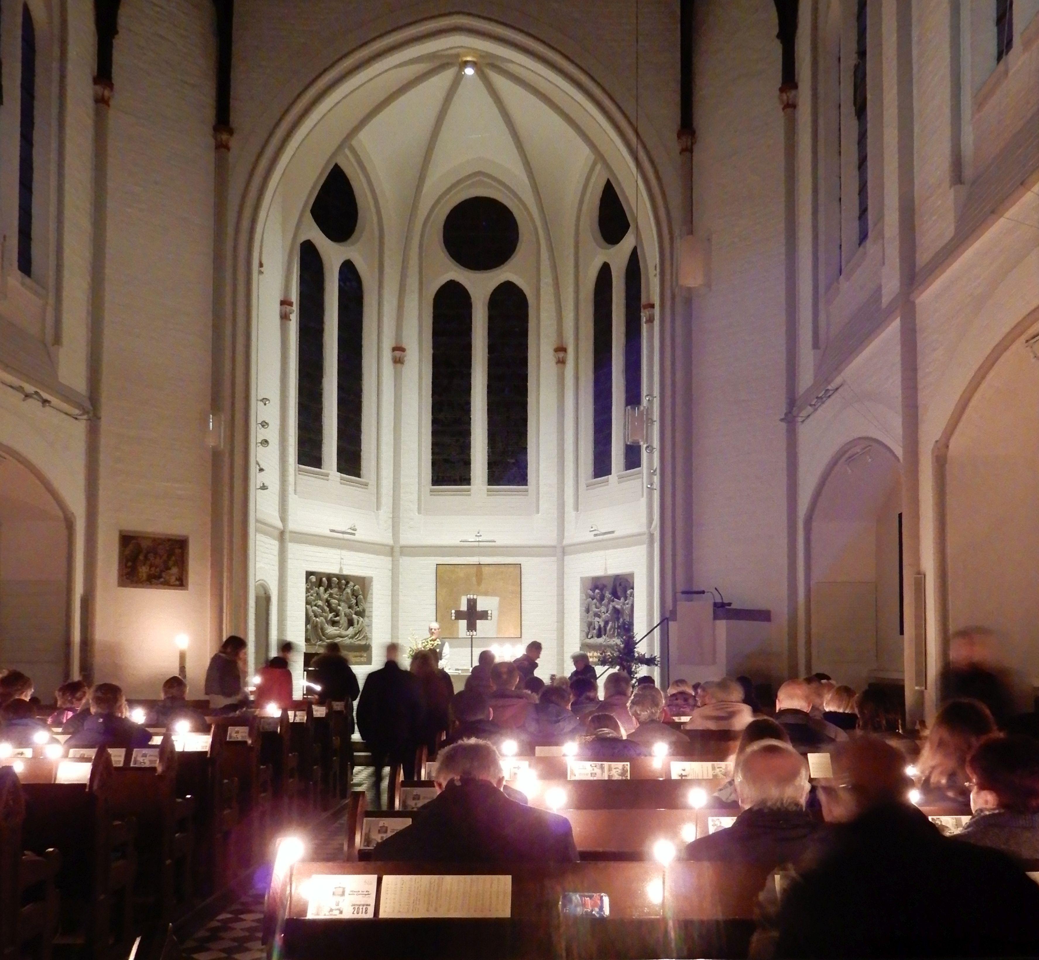 Osternacht in der Erlöserkirche