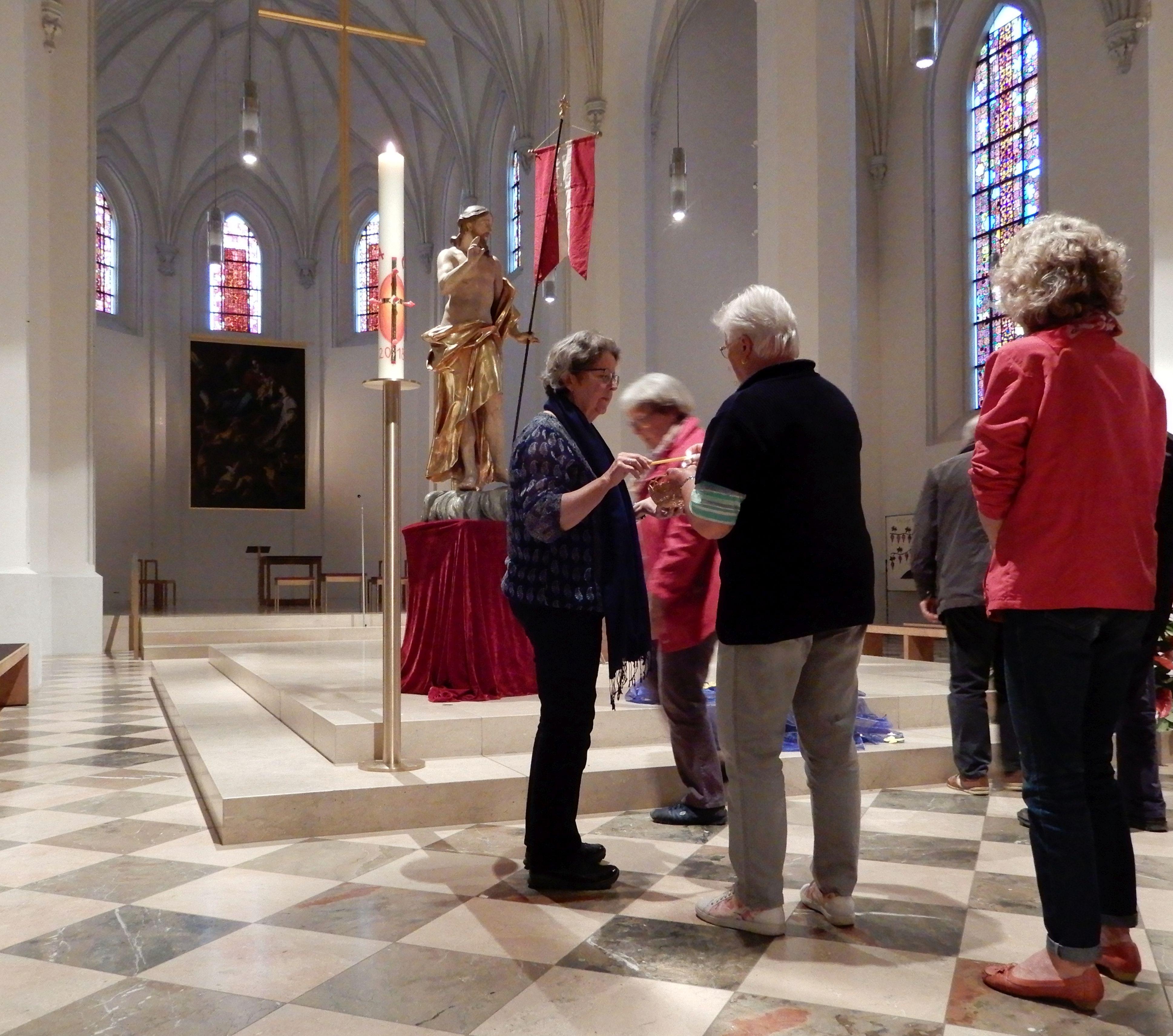 Atempause in der Nikolauskirche