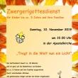 Zwergerlgottesdienst am 10. November