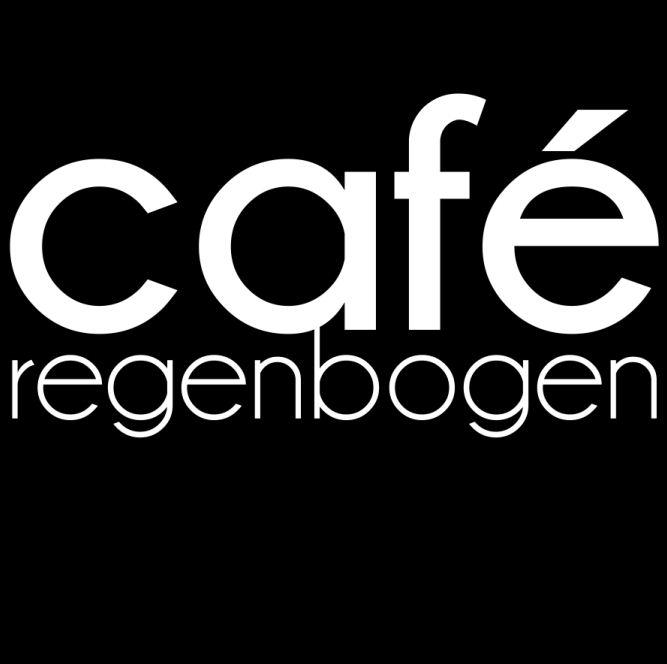 Logo café regenbogen