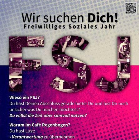 Flyer zur Ausschreibung der FSJ Kraft