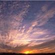 Bild eines Abendhimmels