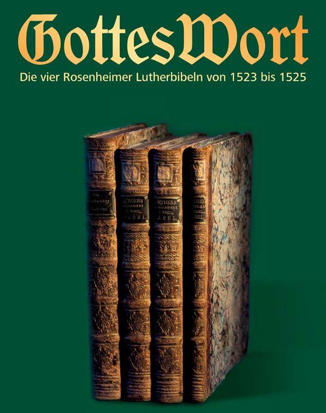 Plakat Ausstellung Lutherbibeln