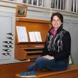 Organistin Angelika Tasler