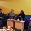 Gesprächsrunde im Jugendcafé