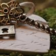 ein Herz mit Schlüssel