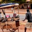 ein Händler in Tansania